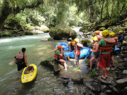 Language holiday and kayaking in Turrialba