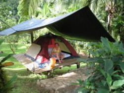 Camping site close to Turrialba